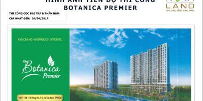 Tiến độ xây dựng căn hộ Botanica Premier