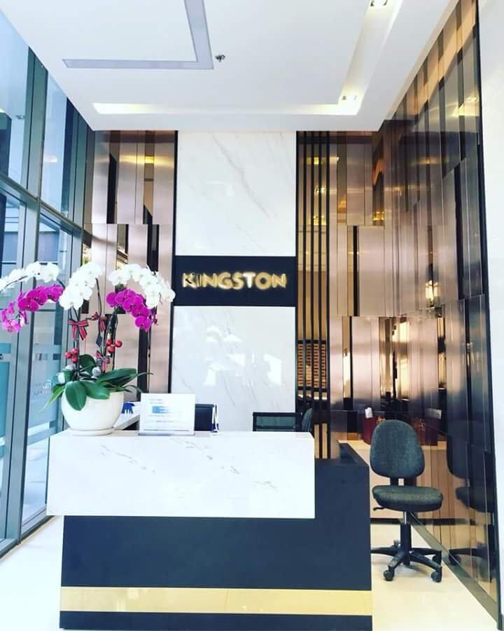 Sảnh reception Kingston