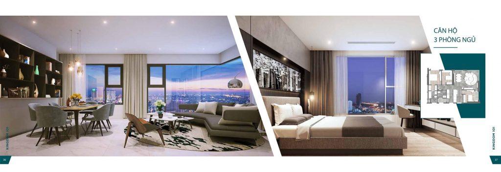 Thiết kế căn hộ Kingdom101 Tô Hiến Thành
