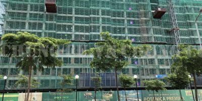 Tiến độ xây dựng Botanica Premier tháng 7/2018