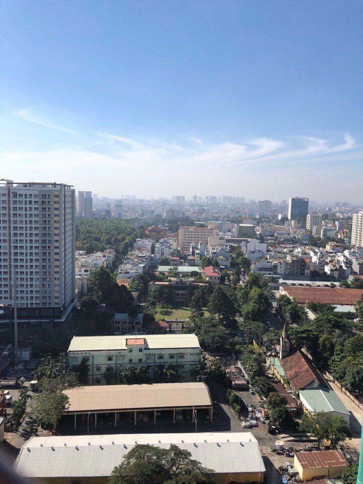 View hướng Nam căn hộ Botanica Premier