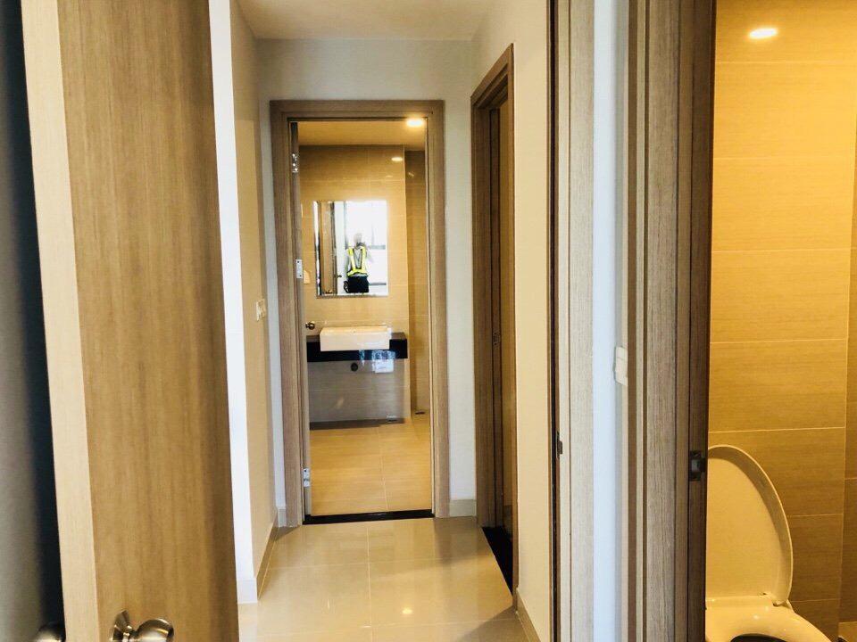 WC hoàn thiện đầy đủ nội thất cao cấp