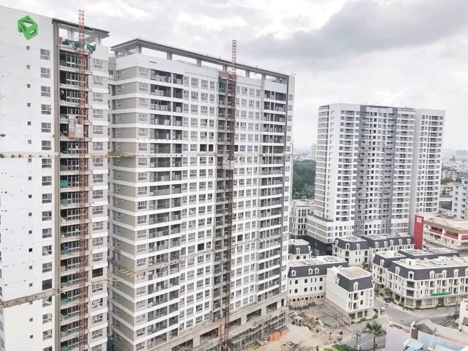 Tiến độ xây dựng căn hộ Golden Mansion tháng 7/2018
