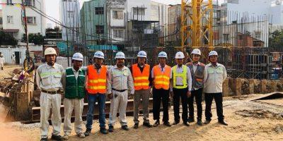 Tiến độ xây dựng căn hộ Grên Field 686 Xô Viết Nghệ Tĩnh tháng 02/2018