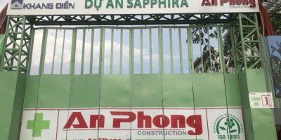 Tiến độ xây dựng căn hộ Sapphira Khang Điền tháng 05/2018