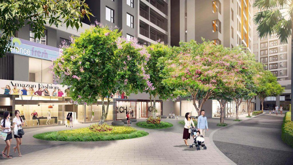 Tiện ích căn hộ Safira Khang Điền