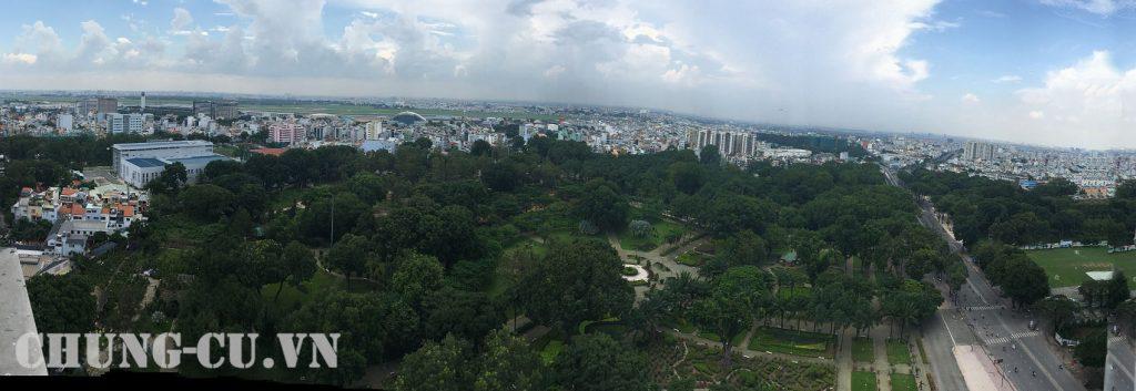 view nhin can ho garden gate